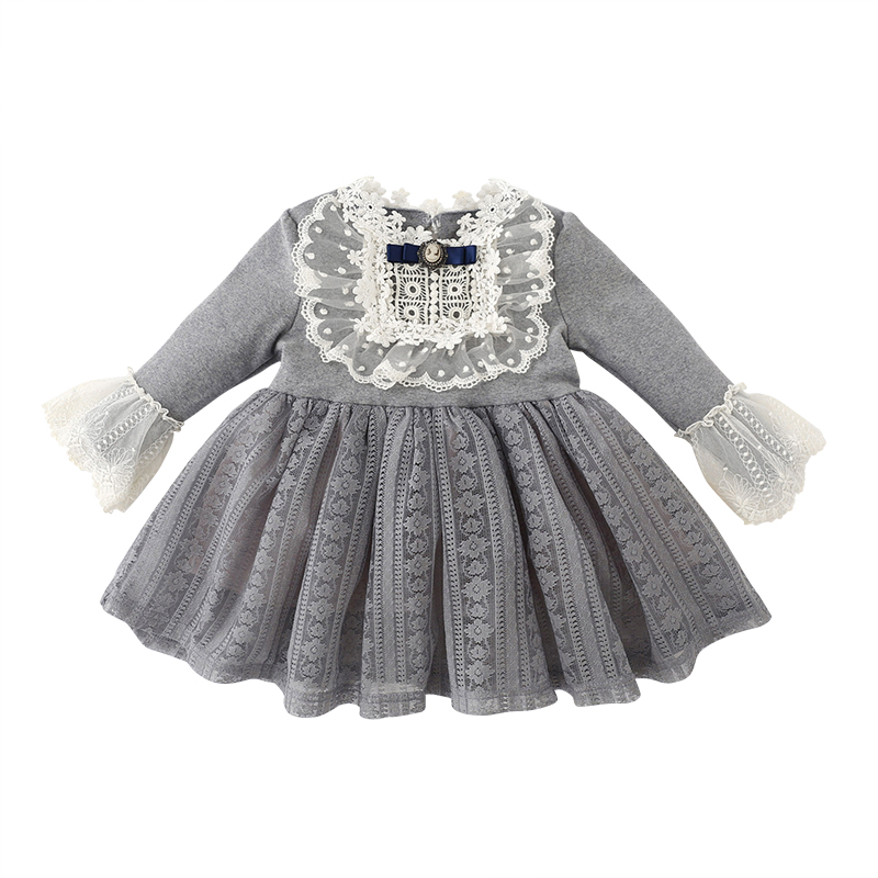 kids dresses for girls winter baby princess dress children vestido tutu little girls long sleeve party wedding dresses for 1234