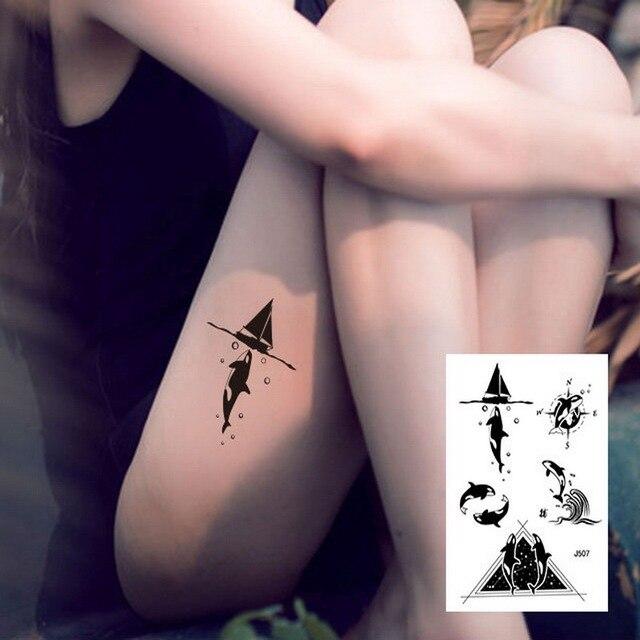 1 pc nouveau 24 modèle grand body art bras jambe tatouage temporaire