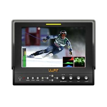 "LILLIPUT 663/S2 7"" LED IPS 3G-SDI Field Monitor with Advanced Functions for DSLR Full HD Camcorder AV RGB SDI HDMI Monitor"