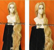 Wig Rapunzel Custom Styled Wig 150cm Resistance High-temperature Mixed Gold Wig Hair Free Shipping(China)