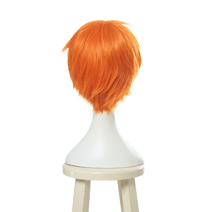 Image 3 - L email wig Brand New Fruits Basket Kyou Souma Cosplay Wigs 25cm Short Heat Resistant Synthetic Hair Perucas Cosplay Wig