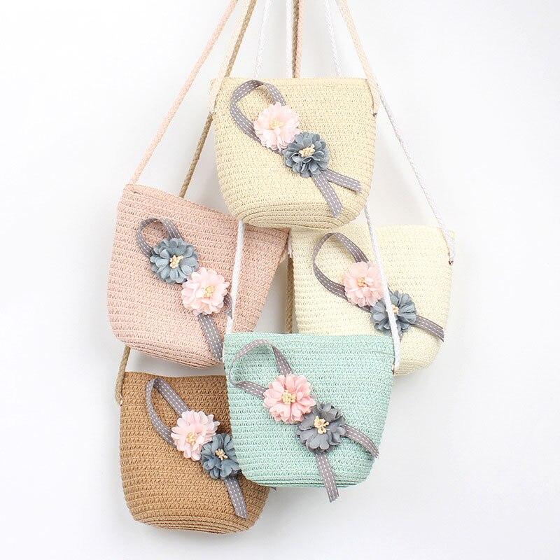Kid Girls Straw Bag Summer Boho Handbags For Girls Messenger Bag Flower Crossbody Bag Travel Beach Bag D20Kid Girls Straw Bag Summer Boho Handbags For Girls Messenger Bag Flower Crossbody Bag Travel Beach Bag D20