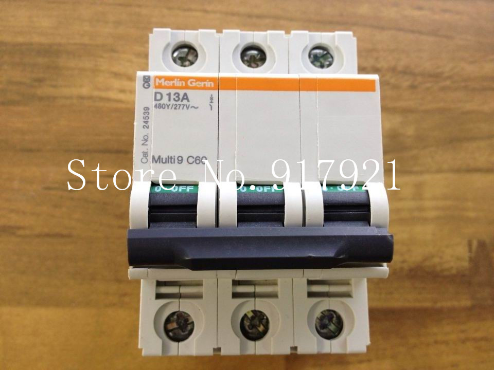 [ZOB] original original C60 480Y/277V D13 3P13A air circuit breaker / switch 24539 --5pcs/lot