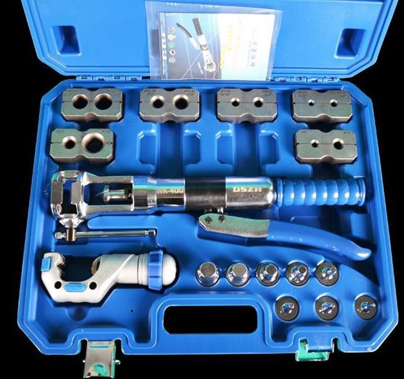 Tube Expanding Tool Set Copper Tube Pipe Expander Tool Kit <font><b>WK</b></font>-400AL image