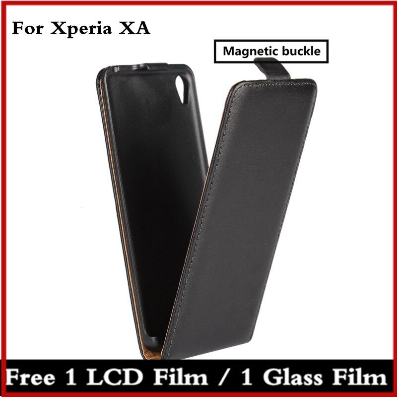Preklopna futrola za telefon Sony Xperia XA F3116 kožna futrola - Oprema i rezervni dijelovi za mobitele