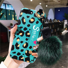 Cyato Fahsion Green leopard Case For iphone X Full Protect Cover 7 8 6 6s Plus Soft Silicone TPU capa