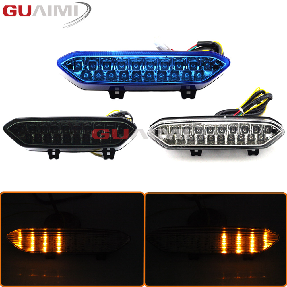 Motorcycle LED Brake Turn Signal Tail Light Integrated For Yamaha YZF R1 02-03 YZFR1 2002 2003 Motorbike TaillightMotorcycle LED Brake Turn Signal Tail Light Integrated For Yamaha YZF R1 02-03 YZFR1 2002 2003 Motorbike Taillight