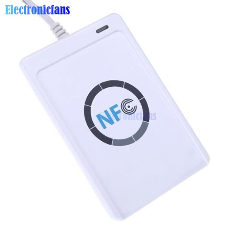 NFC ACR122U RFID CONTACTLESS SMART READER /& WRITER//USB 5X IC CARD WW