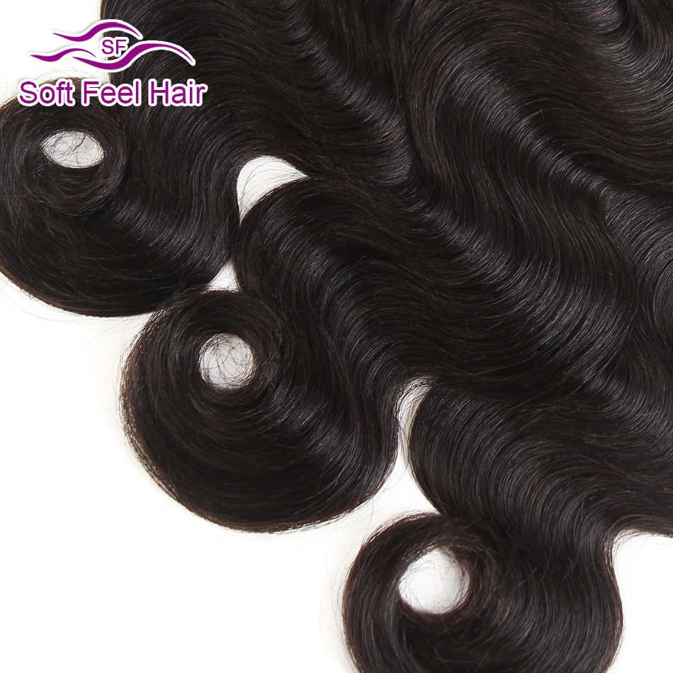 Brazylijski ciało fala 3 wiązek oferty 100% wiązki ludzkich włosów miękkie w dotyku włosy splot doczepy z włosów typu remy naturalny kolor 3 sztuk/partia