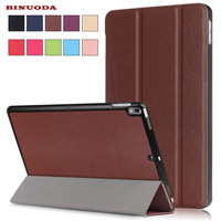 For Coque IPad Pro 10 5 Case Business Style Trifold Folio Book PU Leather Stand Case