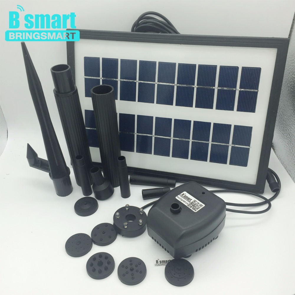 Free shipping JT-170250DBL-3.6W Solar Pump 7V 200L/H With Panel Solar,Solar Pump Submersible Brushless Motor Fountain For Pond free shipping new 220v ylj 500 500l h 8w submersible water pump aquarium fountain fish tank power saving copper wire