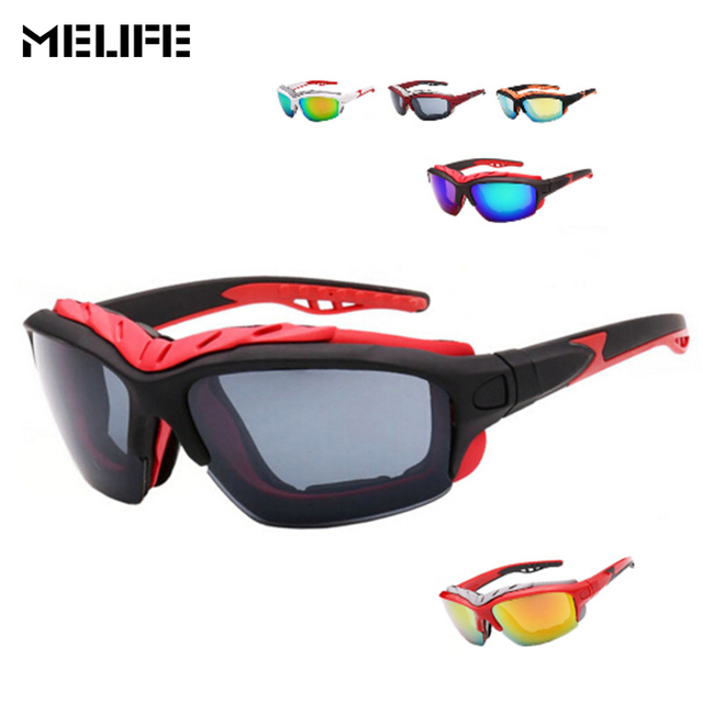 46c0bf85e76 MELIFE Outdoor New Sun Glasses Men Top Quality Male Skiing googles Brand  Motocross UV400 Fishing Sports Eyewear For unisex