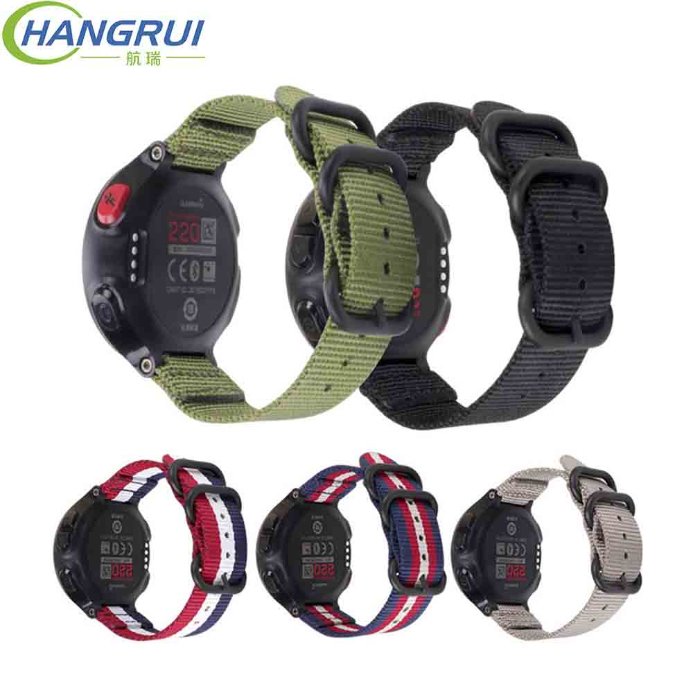 Outdoor Sport Nylon Strap for Garmin forerunner 220 230 235 620 630 735 Watch Band Nylon Strap for Garmin forerunner Watchband Outdoor Sport Nylon Strap for Garmin forerunner 220 230 235 620 630 735 Watch Band Nylon Strap for Garmin forerunner Watchband