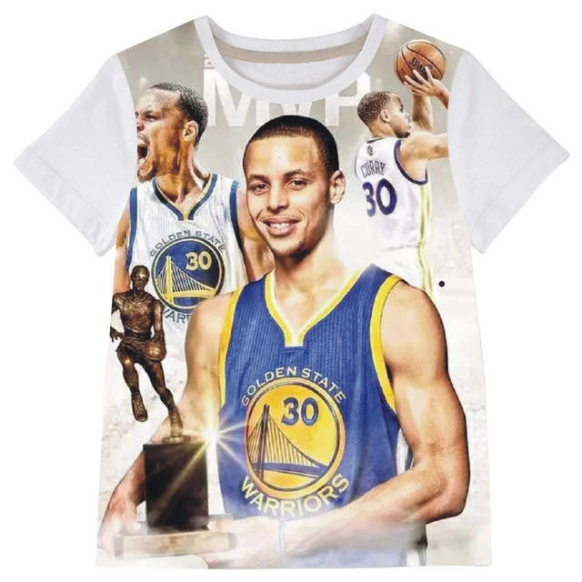 new styles 6e4ed 3840d Stephen Curry Children clothing Boys t shirt children ...