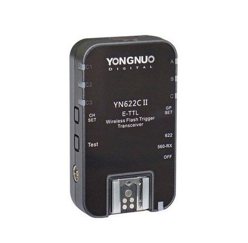 Yongnuo yn-622c ii rx yn622c ii rx hss e-ttl flash trigger per canon fotocamera compatibile con yn622c yn560-tx rf-ii RF-605Yongnuo yn-622c ii rx yn622c ii rx hss e-ttl flash trigger per canon fotocamera compatibile con yn622c yn560-tx rf-ii RF-605
