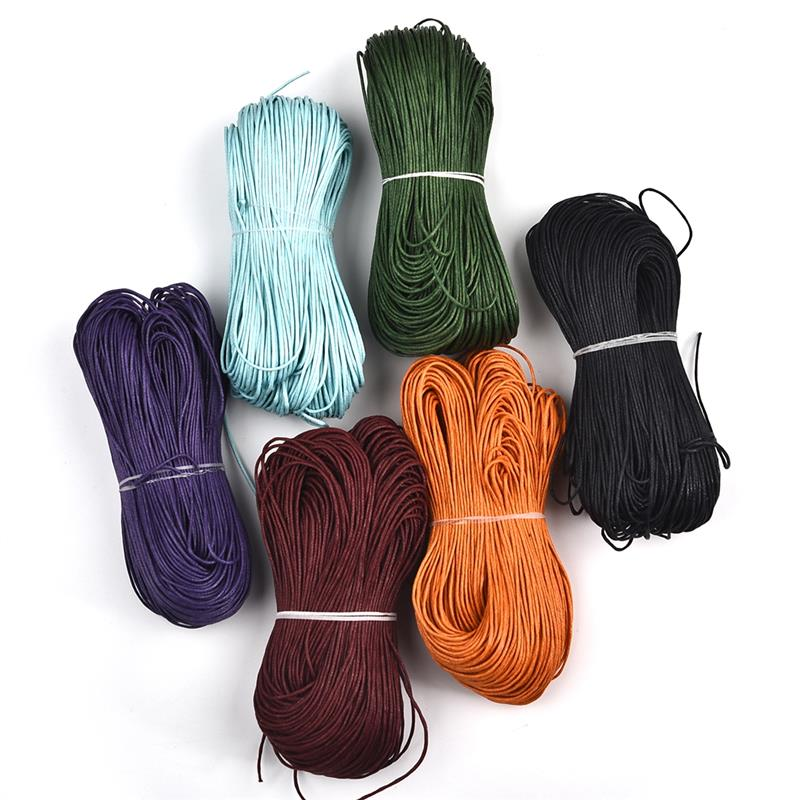 1mm 80m/roll Waxed Cord String Strap Rope Bead Jewelry Findings DIY Making Fabric Bracelet Necklace Thread Beadwork Accessories1mm 80m/roll Waxed Cord String Strap Rope Bead Jewelry Findings DIY Making Fabric Bracelet Necklace Thread Beadwork Accessories