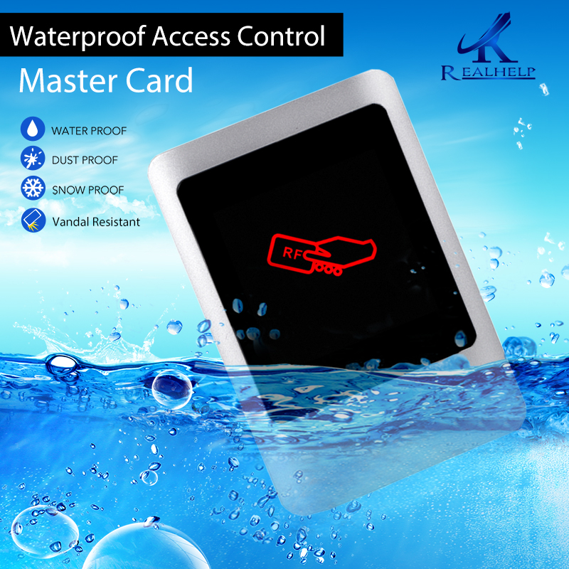 Weatherproof Single Door Access Controller Without Keypad Metal Case Master Card Management Users Standalone Swipe Card