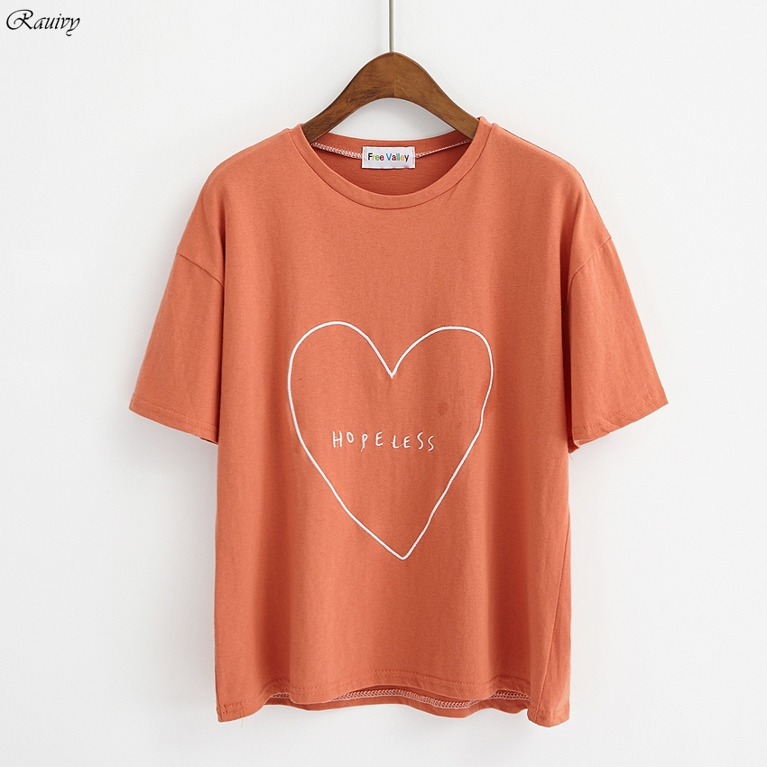 9de1a07fe3 summer 2019 bts t shirts korean fashion rock retro ulzzang harajuku shirt  kawaii love letter embroidered t shirt women tops-in T-Shirts from Women's  ...