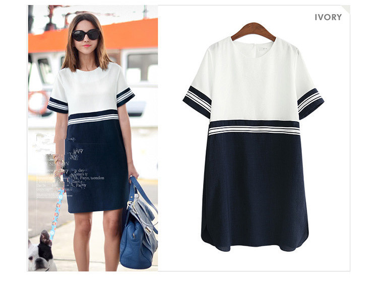 Women's Clothing Popular Brand 2019 New 5xl 4xl X6xl 6xl Summer Women Vetement Chiffon White Short Sleeve Straight Plus Size Midi Dresses Vestidos Curtos