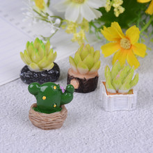 1 Pc di Loto Paesaggio Decorativo Fiore Verde Falso Vari Succulente Pianta Da Giardino Ornament Decor Mini Artificiale Piante Succulente(China)