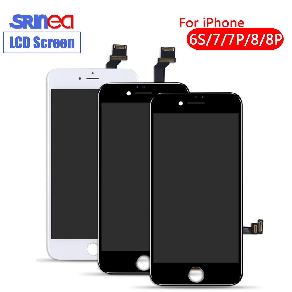 100% AAAA Screen Original LCD For Iphone 6s 7 6 8 Plus 6s LCD Display Digitizer No Dead Pixel 3D Touch Replacement Screen