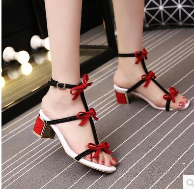 Cheap Price Summer Sweet Butterfly knot Flat Sandals Crystal Heels Hollow out Shoes girl Necessary High Quality flame out solenoid 3930233 12v with cheap price