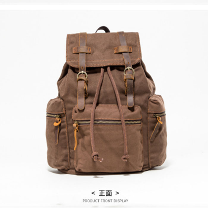Preppy Style Solid College Student Backpack Casual Men Back Pack High Quality Brand Men canvas Book Bag For School backpack college girl canvas backpack fruit printing women school backpacks schoolbag for teenagers student book bag preppy style plecak