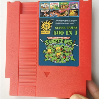 500 in 1 Games collection - Classic NES Cartridge