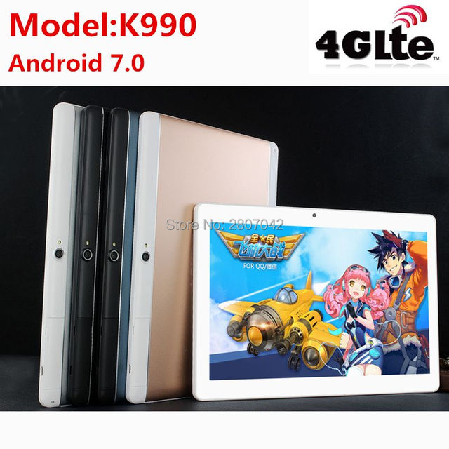 New Tablets 10 Android 7.0 Octa Core 128GB ROM Dual Camera and Dual SIM Tablet PC Support OTG WIFI GPS 3G 4G LTE bluetooth phone