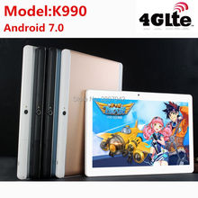 Cheapest New Tablets 10 Android 7.0 Octa Core 128GB ROM Dual Camera and Dual SIM Tablet PC Support OTG WIFI GPS 3G 4G LTE bluetooth phone