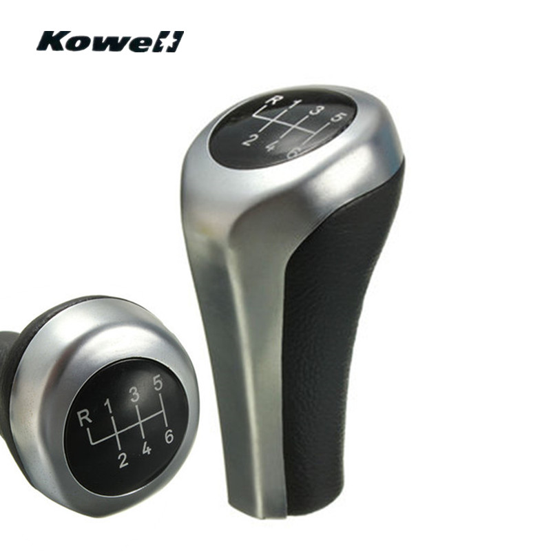 6 Speed Manual Transmission Gear Shift Knob for BMW 1 3 5 6 Series E46 E53 E60 E61 E63 E81 E82 E83 E84 E87 E90 E91 E92 X1 X3 X5|Gear Shift Knob| |  - title=
