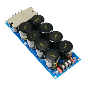 Image 5 - GHXAMP 100A 1000W Amplifier Dual Power Rectifier Filter Board Kits Super Large Current High Power 50V 63V 80V Filter Capacitor