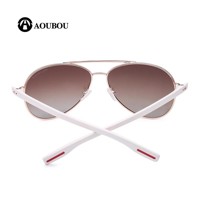 Reka Bentuk Jenama AOUBOU Hot Sale Polarzed Pilot Sunglasses Men - Aksesori pakaian - Foto 5