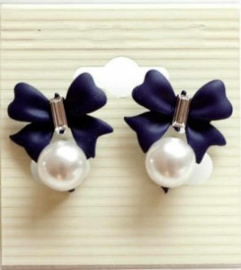 2018 nuevos pendientes de arco gótico estilo coreano joyería de moda nuevos pendientes cuadrados de perlas de cristal para mujer elegantes pendientes