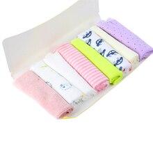 Горячие детские вещи 8 шт. мягкие детские младенческой ванна towel хлопок мочалкой протрите