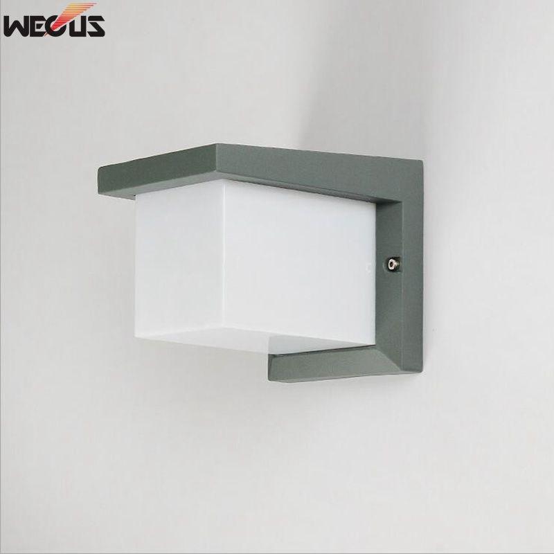 Vattentät vägglampa, kreativt vardagsrum sovrum sänglampa, trappa / hall / gånggång / balkong lampa