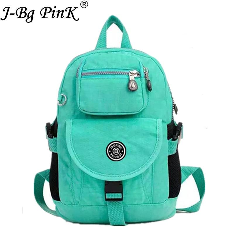 J BG PinK Small Backpack for Teenage Girls 7 Color Newest Backpacks Mochila Feminina Escolar Casual