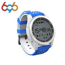 Microwear F3 IP68 À Prova D' Água Medidor de Altitude Termômetro Pedômetro Smartwatch Relógio Inteligente para IOS Android