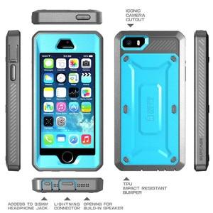 Image 3 - SUPCASE עבור iPhone SE 5 5S מקרה UB פרו מלא גוף מוקשח נרתיק קליפ מגן כיסוי עם מסך מובנה מגן מקרה