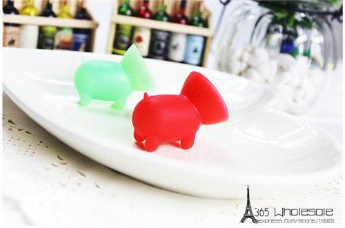 Cute pig Silicone phone rack holder 50pcs - 3
