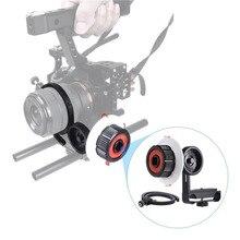 В наличии!!! демпфирования дизайн высокопрочный алюминиевый сплав камеры следуйте фокус с зубчатым венцом пояса подходит для sony a7 ilcd камеры