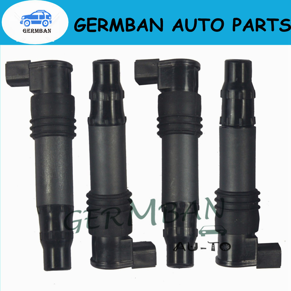 New Manufactured Ignition Coils 4PCS 129700-3630 129700-4400 FOR KAWASAKI ZX-9R 900  zx900c 1297003630