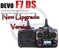 Обновление версии! Walkera DEVO F7 DS FPV-системы Devention 7ch 2.4 ГГц передатчик 100% оригинал