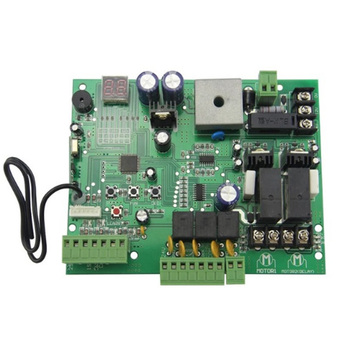 цена на Swing gate opener motor card controller circuit board 12V/24VDC motor (remote control optional)