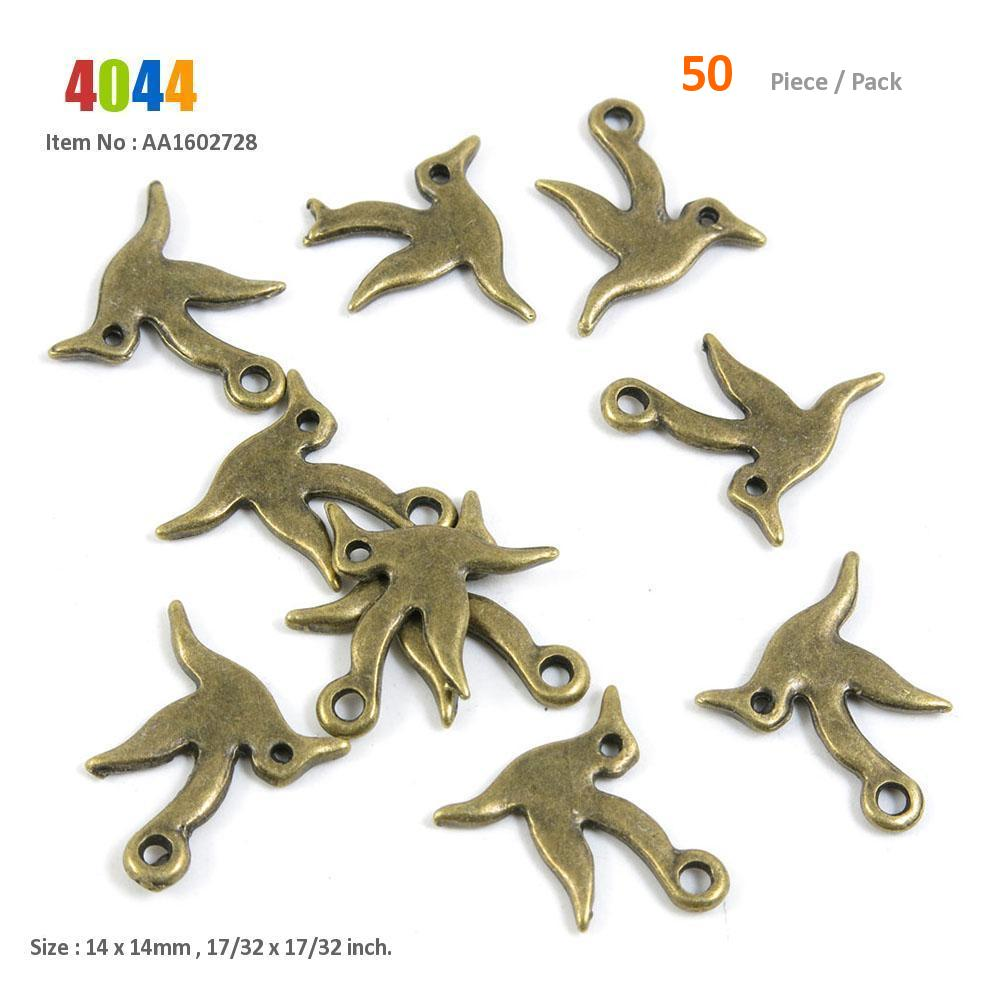 110 Pieces Jewelry Making Charms Antique Silver Tone for Necklace Pendant Bracelet N7KB7 Hummingbird Bird