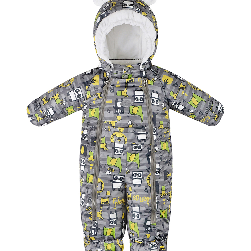 Rompers Reike 42 400 001 SFF(80) grey clothes baby boy children child wear romper toddler infant newborn baby boy romper jumpsuit playsuit children cotton rompers clothes outfits one pieces 0 24m