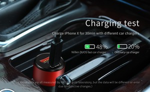Image 3 - NILLKIN Car Charger adapter USB Quick Charge 3.0 Mobile Phone Charger Type C Fast Charger for iPhone 8/8 Plus/X for Samsung