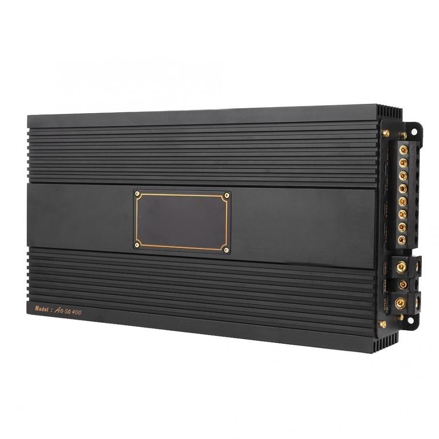 Amplificador para coche, 4 canales, amplificador de Audio estéreo para coche, amplificador de potencia del altavoz, amplificador RMS Black AQ-R400 araba aksesuar