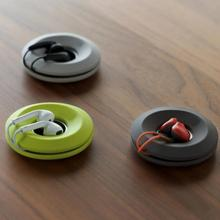 Earphone Cable Donuts Magnetic Inner Ring Organizer Holder Management Earbuds Wire Winder 3 Colors