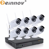 EINNOV 2 0MP 1080P NVR 5PCS 6PCS 1080P HD Outdoor Home Security Camera System 8CH CCTV